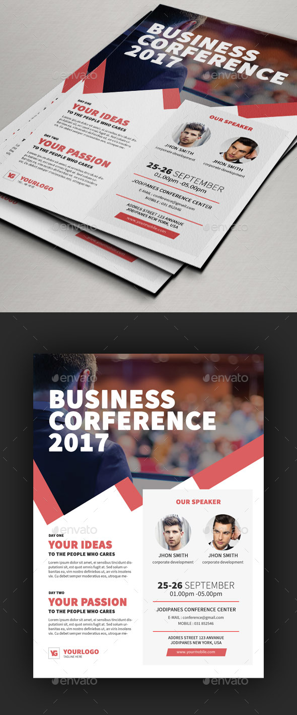 Conference Flyer V4 - Events Flyers