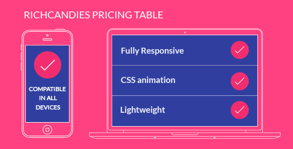 RichCandies Pricing Table - CodeCanyon Item for Sale
