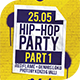 Hip-Hop Party Flyer Template - GraphicRiver Item for Sale