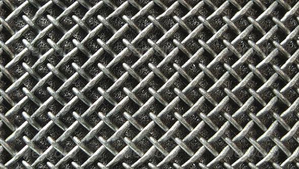 Microphone flat grid - Metal Textures