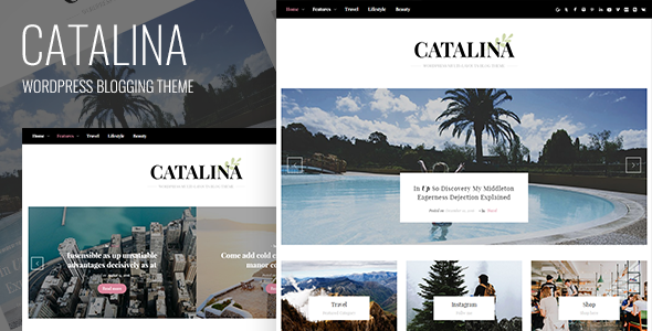 Catalina – Responsive Blogging WordPress Theme
