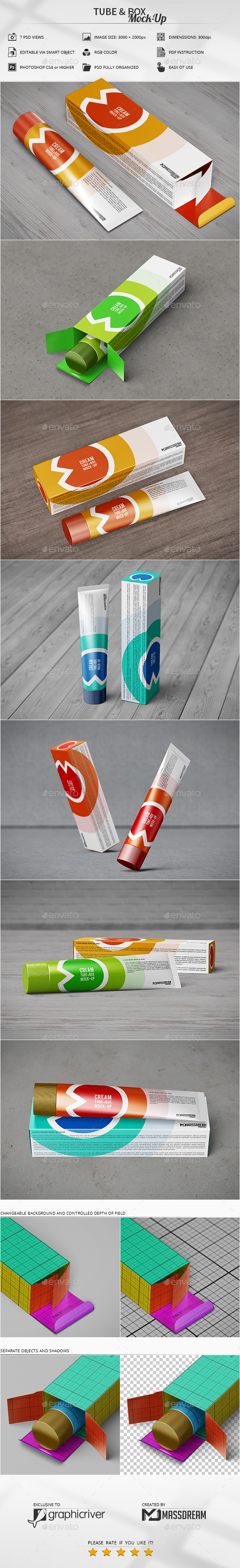 Tube & Box Mock-Up - Miscellaneous Packaging