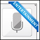 Entertainment icons - GraphicRiver Item for Sale