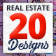 Real Estate Facebook Covers 20 Designs - GraphicRiver Item for Sale