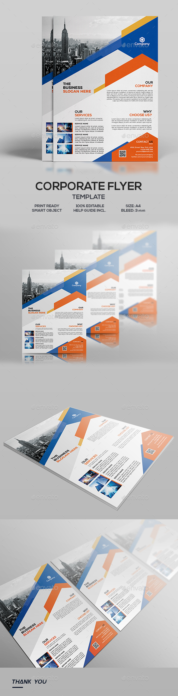 Corporate Flyer - Corporate Flyers