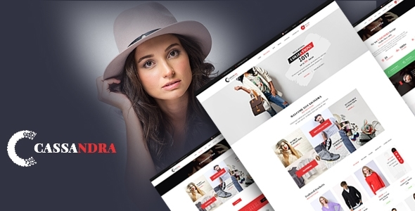Cassandra – Ultimate Site Commerce Template
