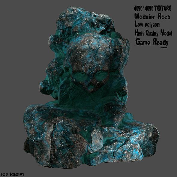 skull roc 6 - 3DOcean Item for Sale