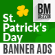 St Patricks Day Banner Ads - GraphicRiver Item for Sale