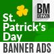 St Patricks Day Banner Ads - GraphicRiver Item for Sale