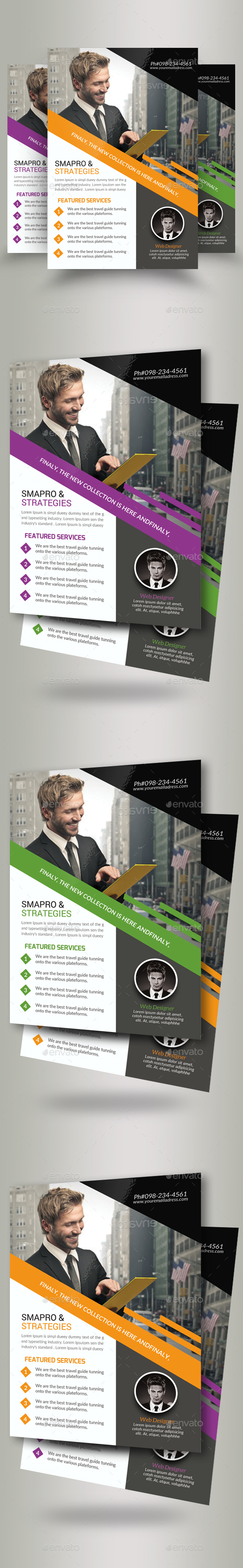Marketing Consultant Agency Flyer - Corporate Flyers