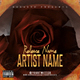 Roses PSD CD Mixtape Cover Template - GraphicRiver Item for Sale
