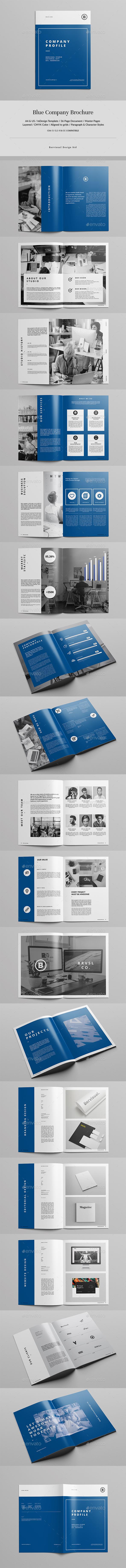 Blue Company Brochure - Corporate Brochures