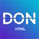DON - Coming Soon Template. - ThemeForest Item for Sale