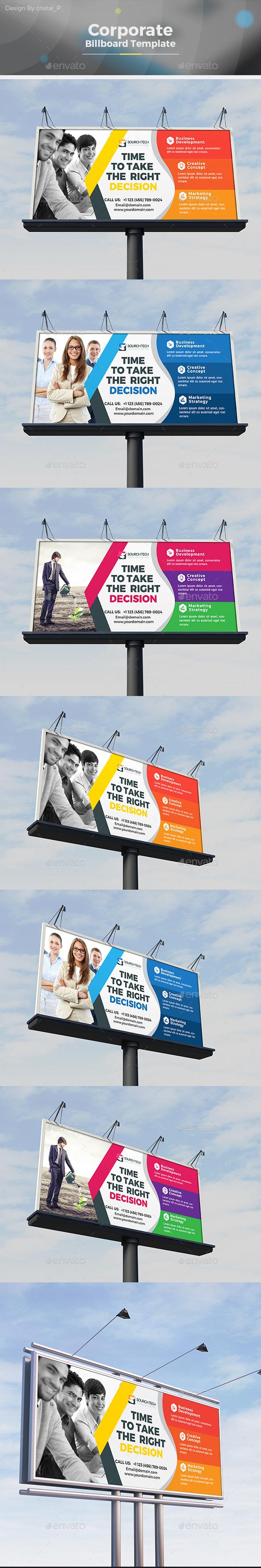 Billboard Signage - Signage Print Templates