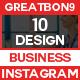 Instagram - 10 Design - GraphicRiver Item for Sale