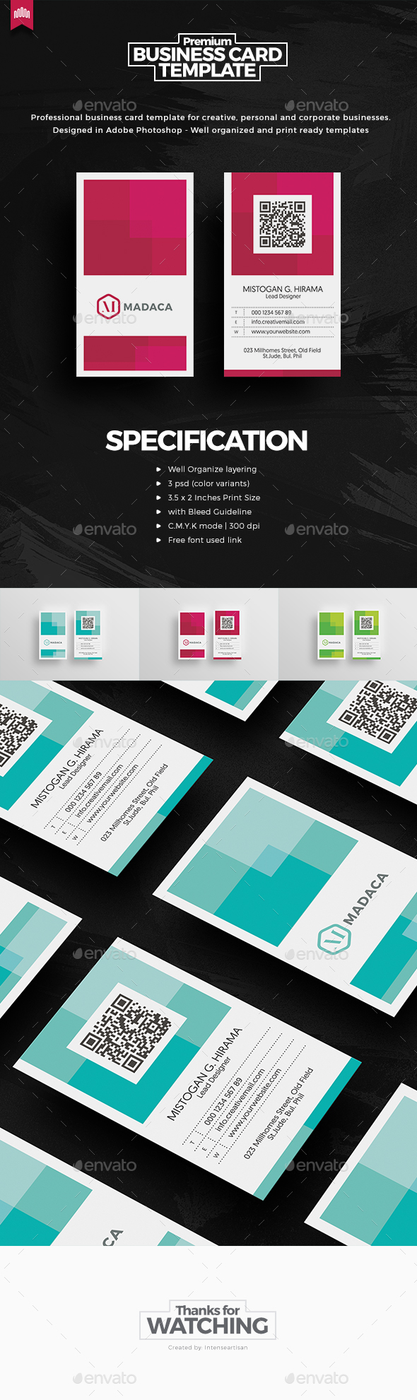 Creative - Pro Business Card - Creative Business Cards