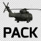 Military Helicopter Pack - 2 - VideoHive Item for Sale