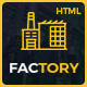 Factory - Industrial Business HTML Template Nulled