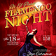 Flamenco Night Flyer Template - GraphicRiver Item for Sale