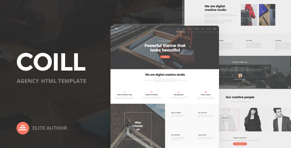 Coill | Business & Agency HTML5 Template - Business Corporate