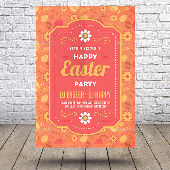Happy Easter Flyer - Holidays Events
