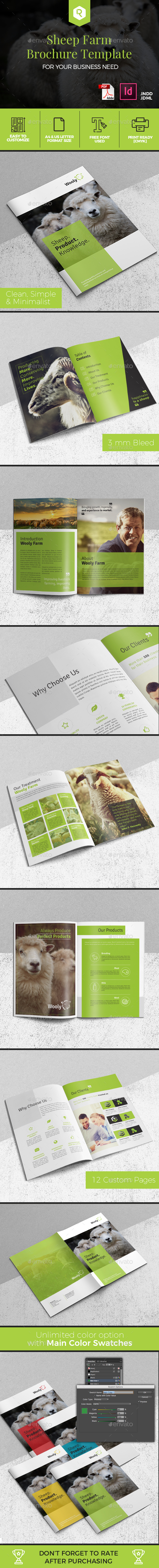Sheep Farm Brochure - Corporate Brochures