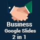 Business 2 in 1 Google Slides Template Bundle - GraphicRiver Item for Sale