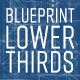 Blueprint Lower Thirds - VideoHive Item for Sale