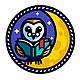 Wise Master - Owl Character Mascot Logo