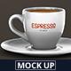 Espresso Cup Mockup - GraphicRiver Item for Sale