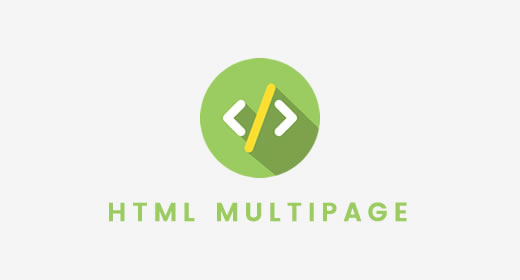 HTML Multi Page
