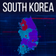 South Korea Map - VideoHive Item for Sale
