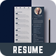 Resume With 2 Colors