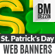 St Patricks Day Web Banners - GraphicRiver Item for Sale
