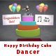 Happy Birthday Cake Dancer - VideoHive Item for Sale