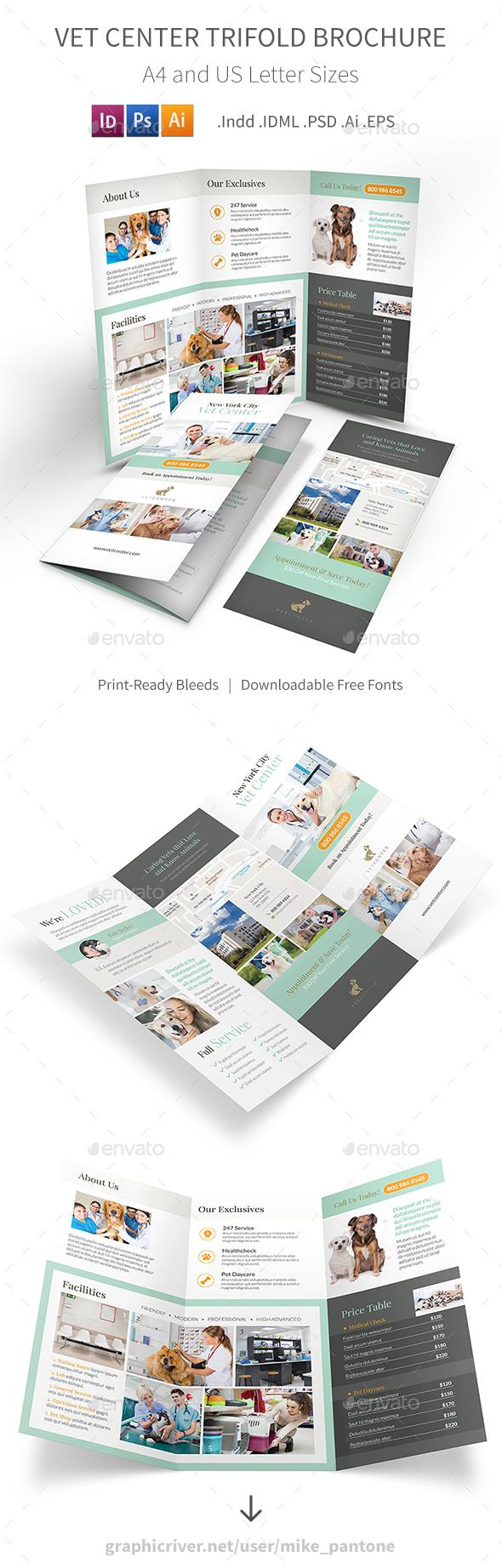 Vet Center Trifold Brochure - Informational Brochures