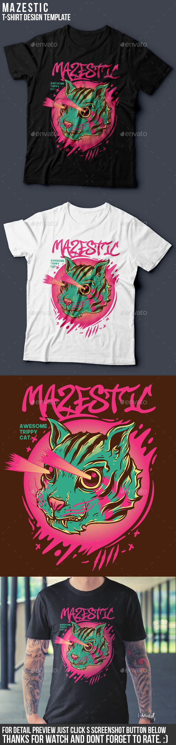 Mazestic T-Shirt Design - Funny Designs