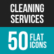 Cleaning Services Flat Multicolor Icons - GraphicRiver Item for Sale