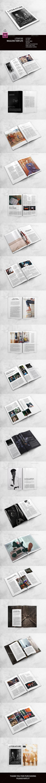 Literature Magazine Template - Magazines Print Templates