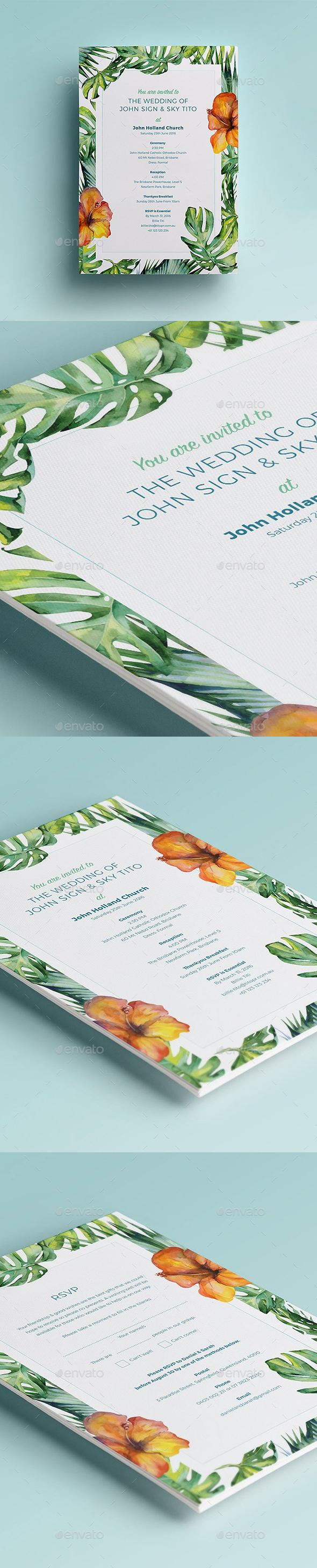 Wedding Invite - Weddings Cards & Invites