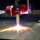 CNC Laser Plasma Cutting of Metal