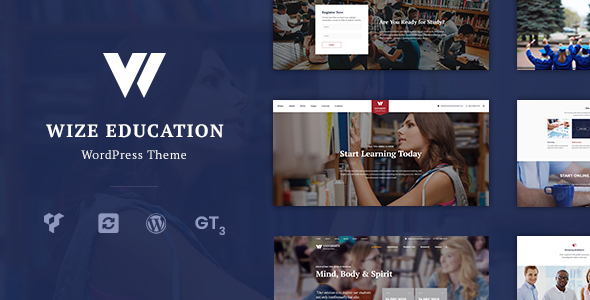 Education | Courses & Events LMS WordPress Theme - WizeEdu - Education WordPress