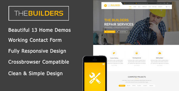 The Builders – Construction HTML Template