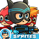 Super Boys Game Sprites - GraphicRiver Item for Sale