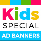 Kids Banner Set - GraphicRiver Item for Sale