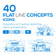 Flat Line Designed Concepts - GraphicRiver Item for Sale