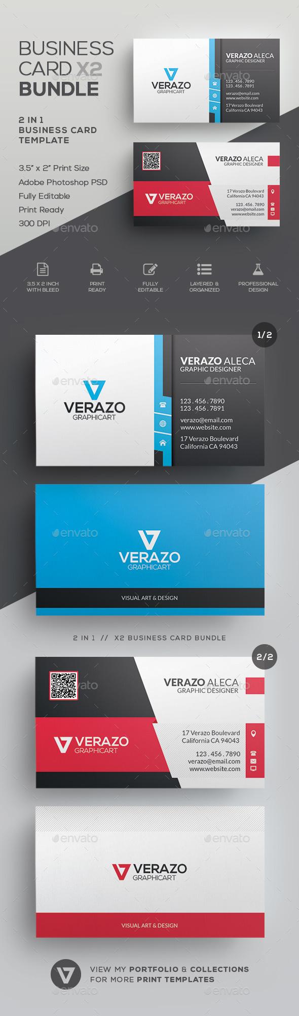 Business Card Bundle 28 - Corporate Business Cards