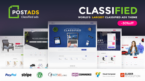 PostAds – Classified Ads WordPress Theme