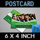 Graduation Postcard Template - GraphicRiver Item for Sale