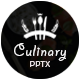 Culinary - MultipurposePowerpoint Template Nulled